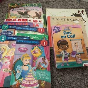 Other - Lot of 16 girls books -Disney, princess, Olivia